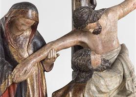 Kreuzabnahme um 1330/1340 Konstanzer Heinrich Werkstatt? Diözesane Sammlung Leni Deinhardstein, Lisa Rastl, Dom Museum Wien
