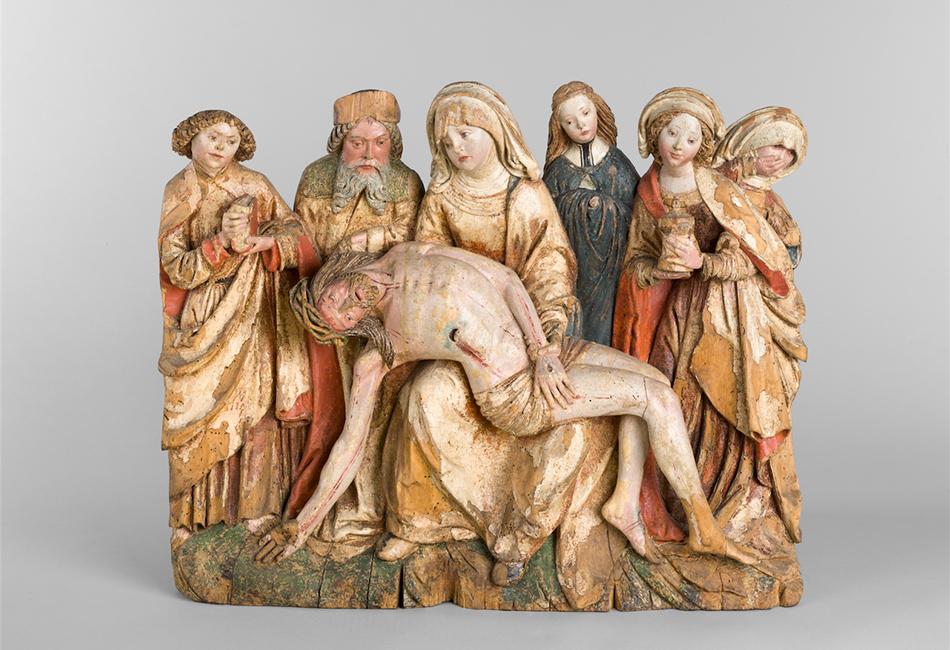 Beweinung Christi Frühes 16. Jahrhundert  Diözesane Sammlung Leni Deinhardstein, Lisa Rastl, Dom Museum Wien