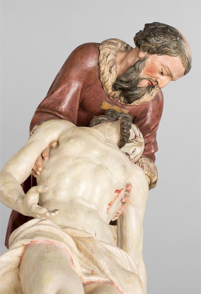 Grablegung Christi um 1750  Diözesane Sammlung Leni Deinhardstein, Lisa Rastl, Dom Museum Wien
