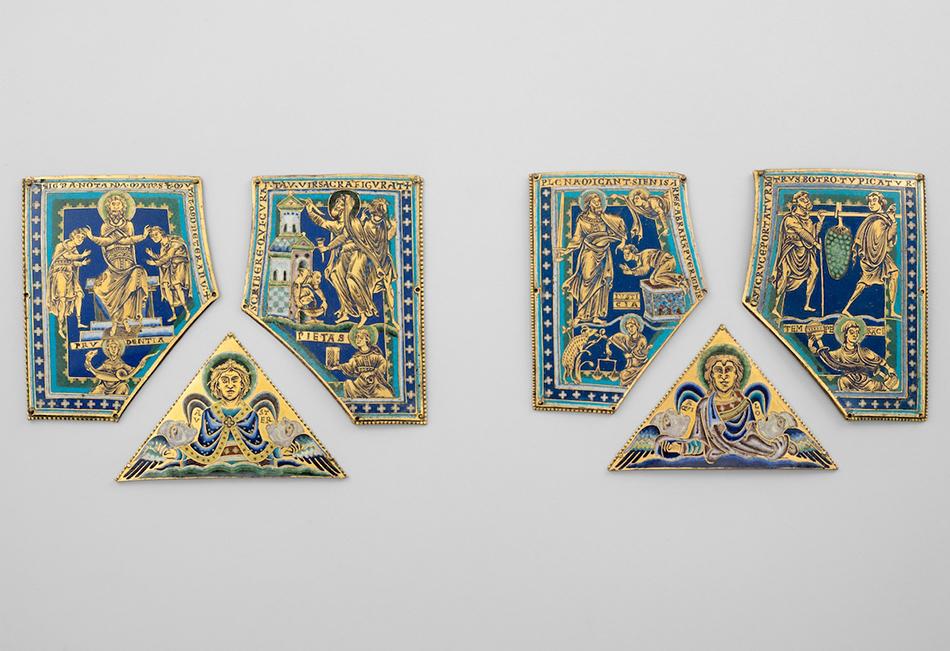 Sechs Emailtafeln um 1160/1170  Domschatz St. Stephan Leni Deinhardstein, Lisa Rastl, Dom Museum Wien