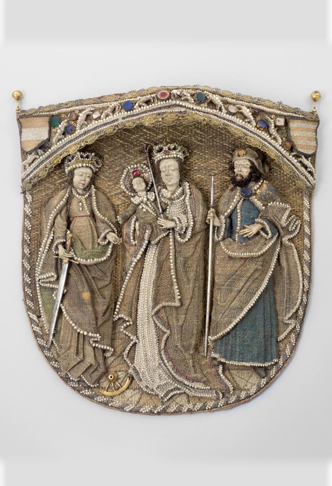 Rückenschild eines Chormantels 1518  Domschatz St. Stephan Leni Deinhardstein, Lisa Rastl, Dom Museum Wien