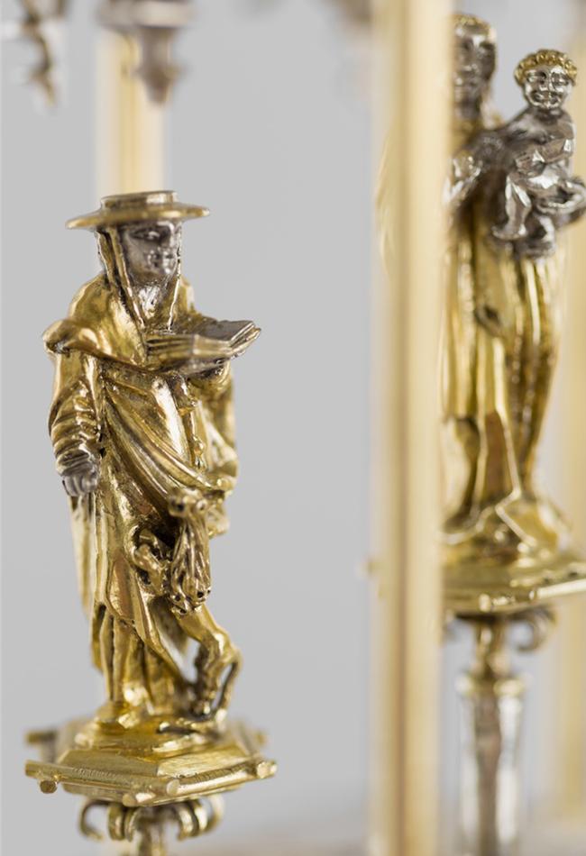Prigglitzer Turmmonstranz 1515, Lunula: vermutlich 19. Jahrhundert  Diözesane Sammlung Leni Deinhardstein, Lisa Rastl, Dom Museum Wien