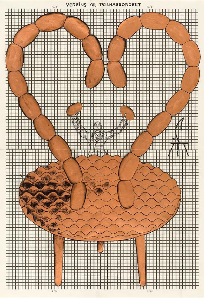 Vereins- oder Teilhabeobjekt 1967 Bruno Gironcoli 1936 Wien Sammlung Otto Mauer Leni Deinhardstein, Lisa Rastl, Dom Museum Wien