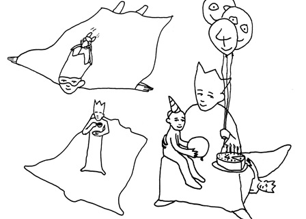 Rudi, Kids´ Birthday Party. Ilustration: Thomas Hamann