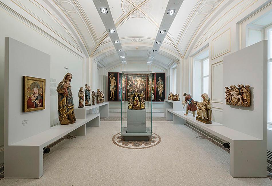 """Die """"Kapelle"""" im Obergeschoß des Dom Museum Wien. Foto: Hertha Hurnaus"""