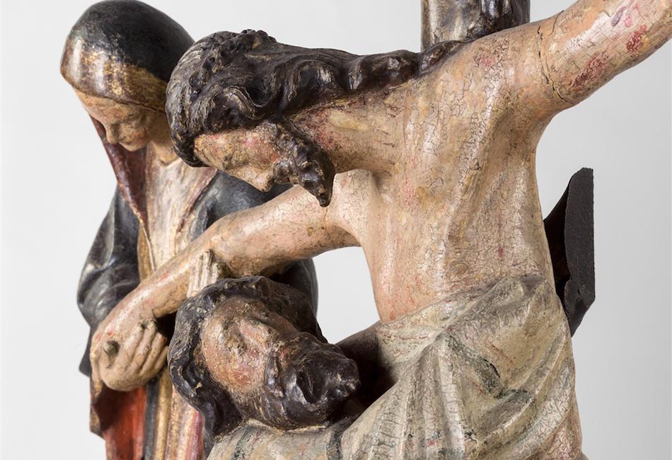 Kreuzabnahme, um 1330/1340. Dom Museum Wien. Foto: Deinhardstein, Rastl
